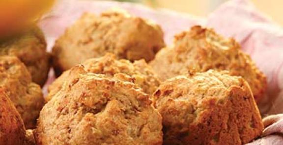 muffins al prosciutto
