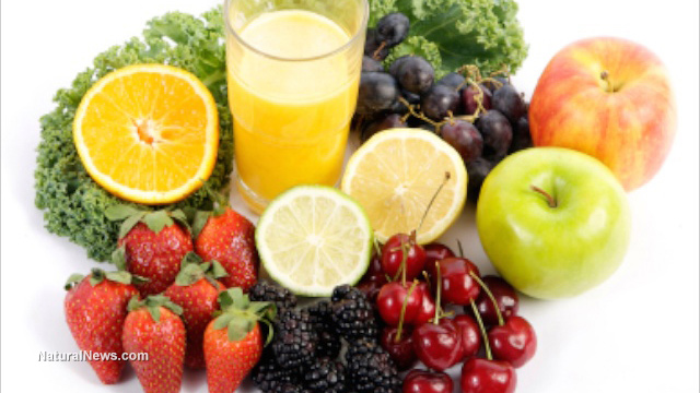 ricette succhi di frutta e verdure