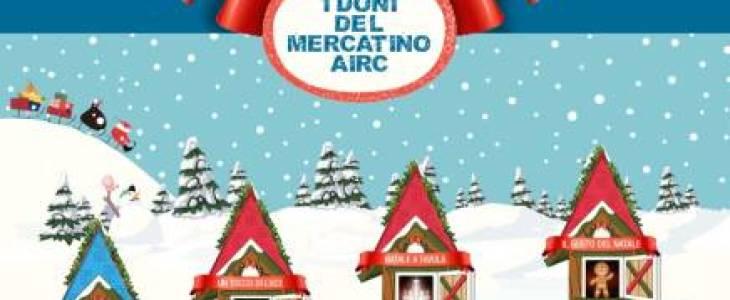 """""""I doni del Mercatino AIRC"""" per sostenere la ricerca sul cancro"""