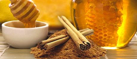 cannella e miele per la dieta