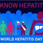 28 Luglio 2016 Giornata Mondiale dell'epatite