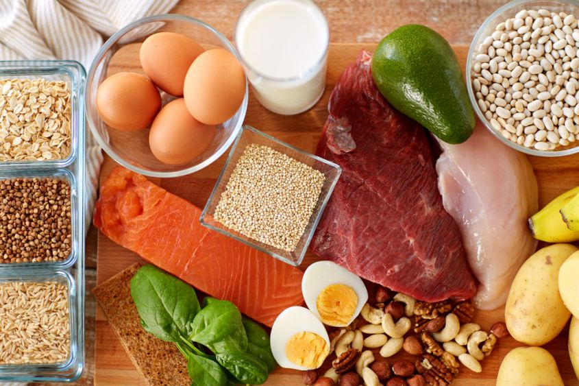 utilizzando proteine del siero del latte per perdere peso